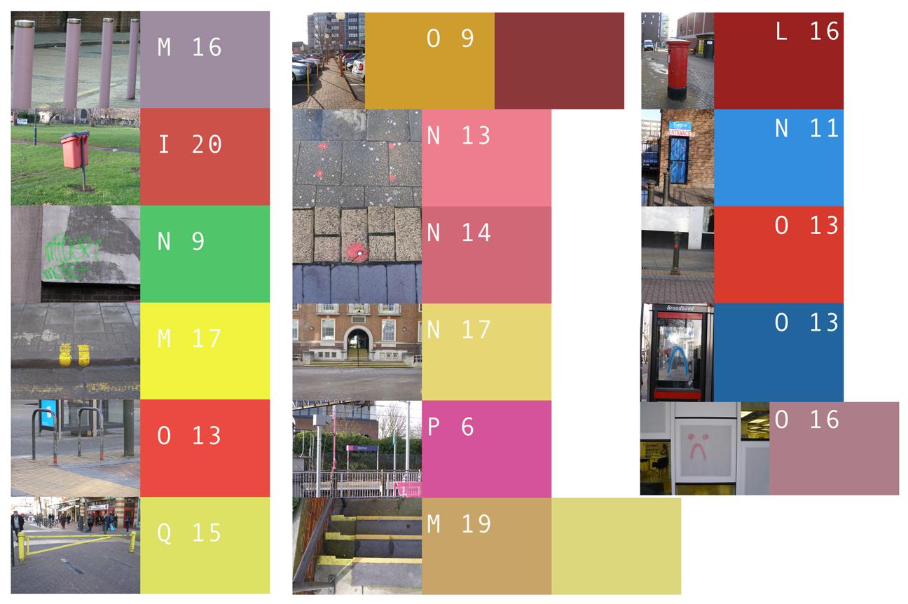 Documentatie mapping 2, permanente kleine objecten en markeringen